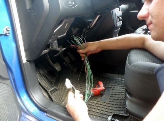 Установить сигнализацию на авто своими руками