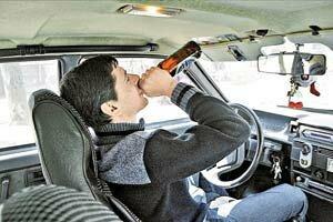 Пьяный водитель — серьёзная опасность на дороге